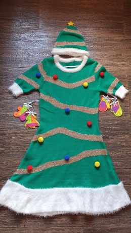 Костюм-платье ёлочка