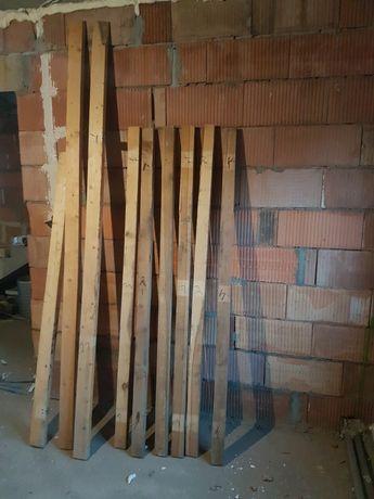 Belka drewniana  Belki 8x5 Kantówka 9x4