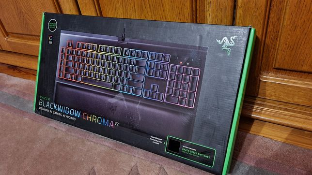 Razer BlackWidow V2 Chroma Green Switch