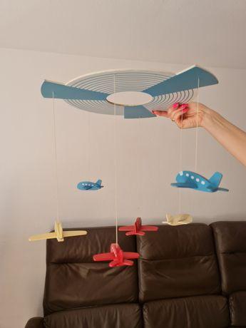 Samoloty modele samolotów do żyrandola lub nad łóżko super ozdoba