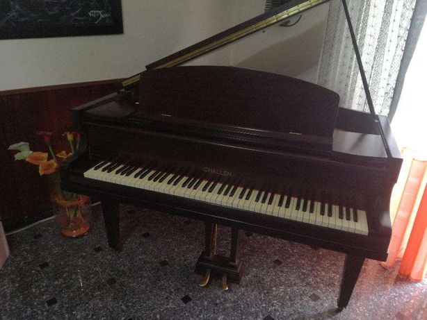 Piano 1/4 cauda CHALLEN ano 1947 , impecavel 100% original