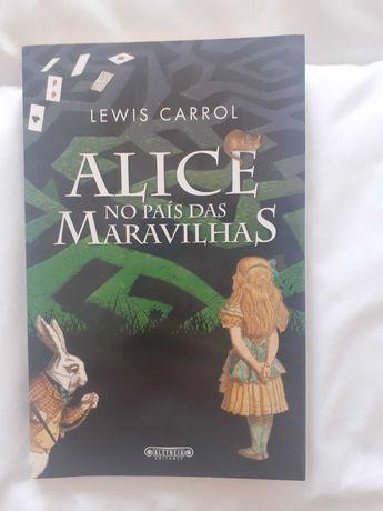 """Alice no País das Maravilhas"" (livro) de Lewis Carrol"