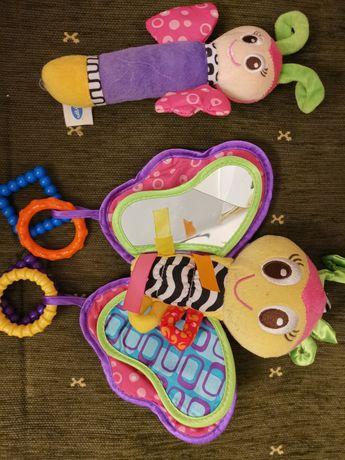 Sprzedam 2 zabawki, grzechotki, piszczalki firmy playgro