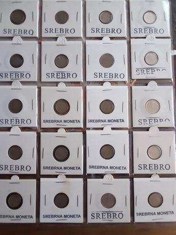 Monety srebrne zagraniczne