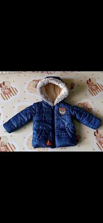 Курточка на мальчика 4-5 месяцев.