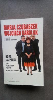 Maria Czubaszek w rozmowie z Arturem Andrusem Boks na ptaku