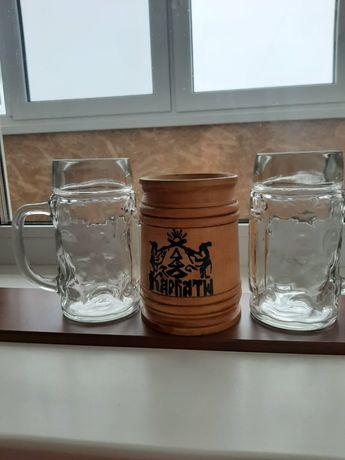 Продаю новые кружки для пива