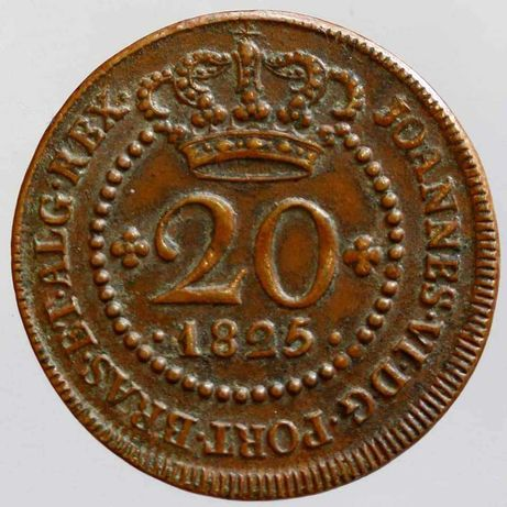 20 Réis 1825 - soberba