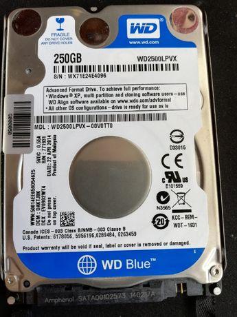 Продам жесткий диск до ноутбука WD Blue 250GB