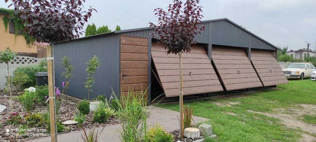 Garaż trzystanowiskowy 10x6 blaszak