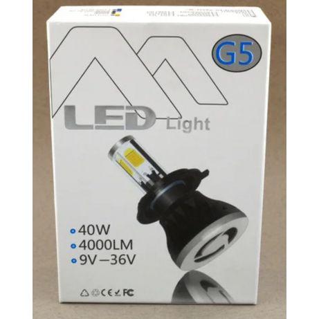 Автомобильные Led лед лэд лампы светодиодные автолампы G5 H4,H7 40W,