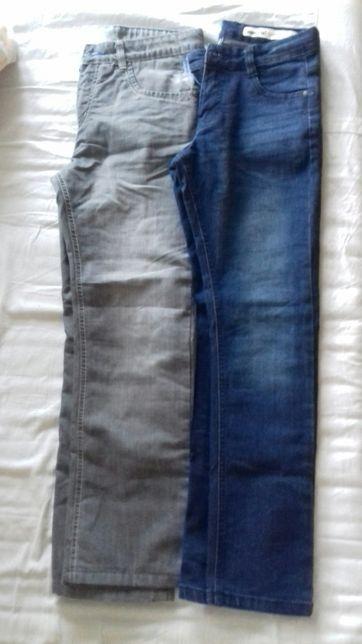 Spodnie Lidl r. 152 ocieplane szare