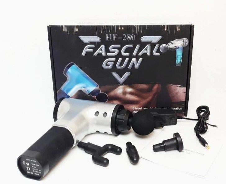 Массажер. снятие боли | суставы. Мышечный | HF-280. Массаж fascial gun Тернополь - изображение 1