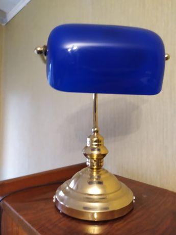 Lampka stojąca granatowa