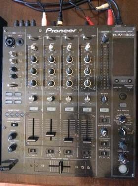 Mesa mistura DJM 800 Pioneer