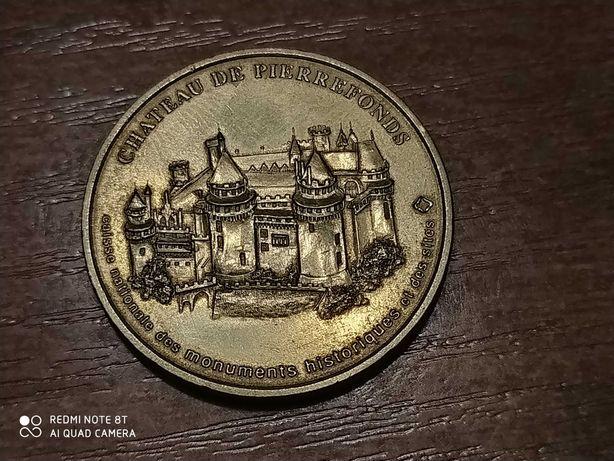 Moneta, Medal Chateau De Pierrefonds /Zamiana
