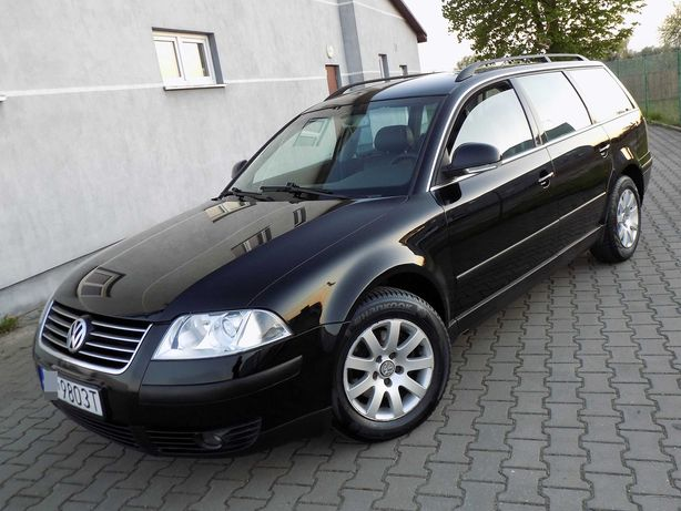 Volkswagen Passat - 1.9 TDI 6 biegów - super stan - 2005 rok Zobacz!