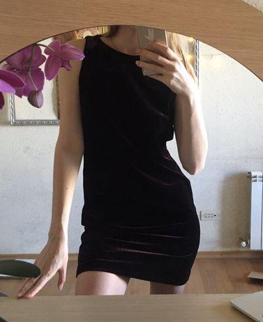 Бархатное платье миди, мини, элегантное вечернее платье, прекрасное ка