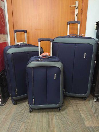 Тканевый чемодан Verona на 4 съемных колеса