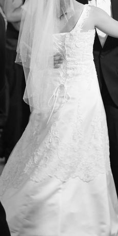 Suknia ślubna z gorsetem ok 167