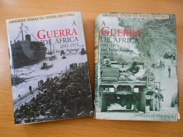 a Guerra de África - 2 Volumes