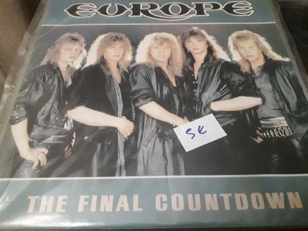 Disco em vinil dos Europe - «Countdown»
