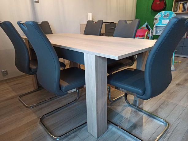 Stół z krzesłami zestaw do jadalni