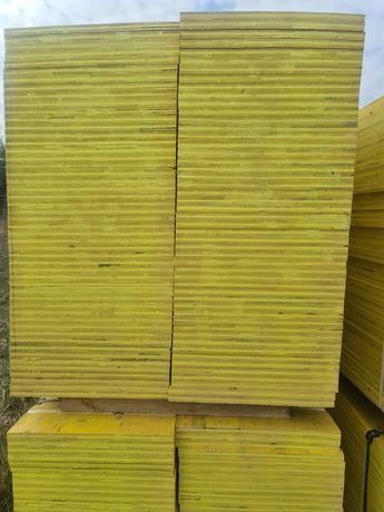 Sklejka szalunkowa płyty stemple budowlane podpory szalunki Trójnogi