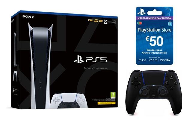 PS5 PlayStation 5 ps5 + DualSense + 50€