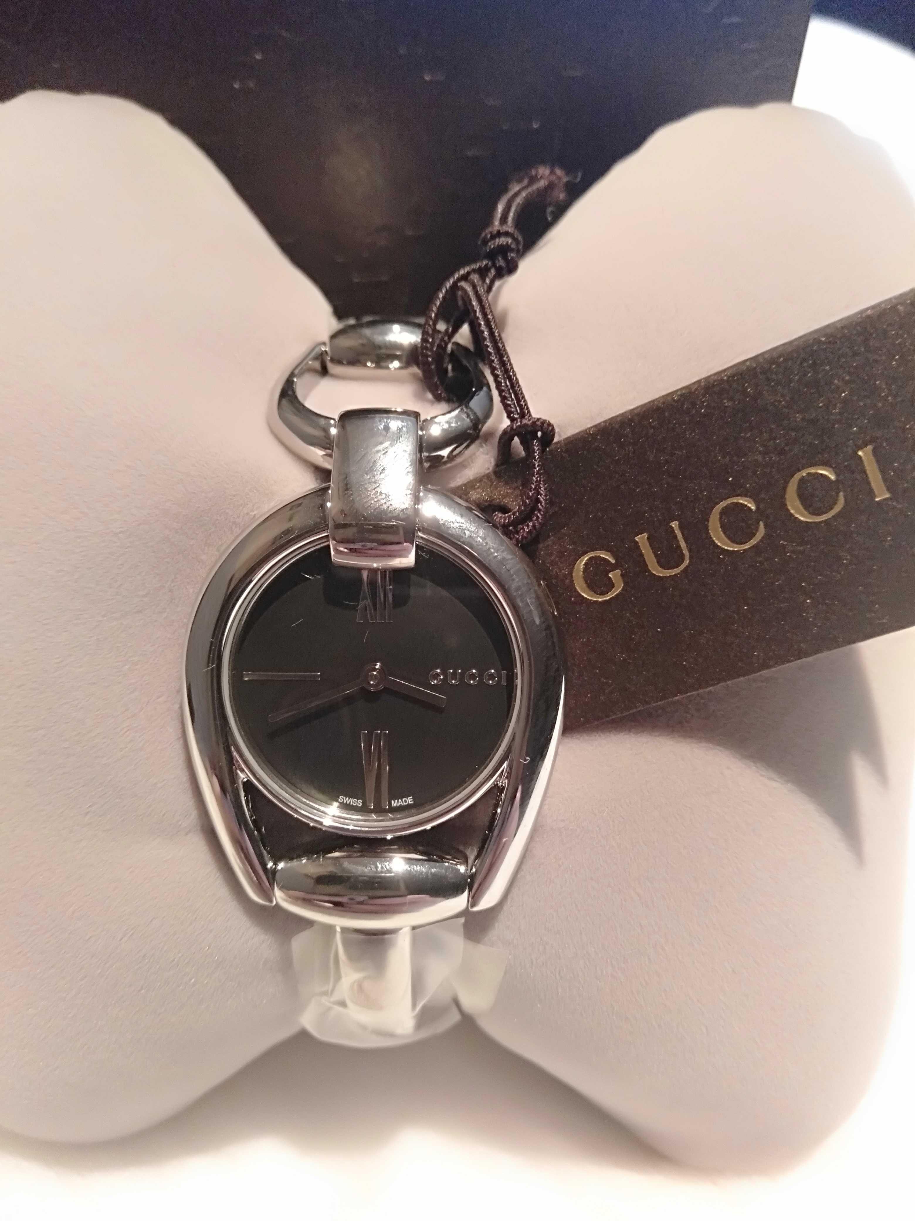 Gucci oryginalny zegarek damski z papierami. NOWY