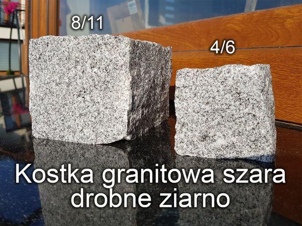 Cały TIR (24 tony) unikalna kostka kamienna szara kostka granitowa 4/6