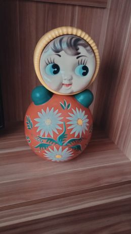 Неваляшка кукла СССР (40см)