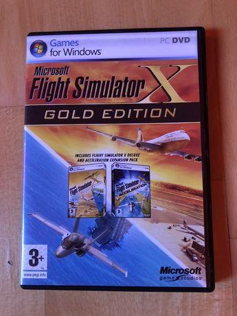 Microsoft Flight Simulator X GOLD EDITION, 2004, 2002