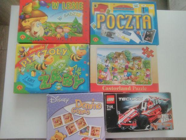 Gry planszowe | Puzzle | LEGO technic | Domino