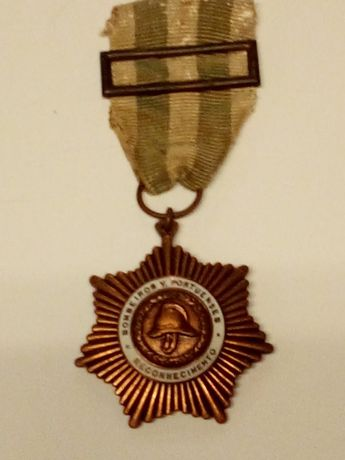 Medalha Antiga Bombeiros