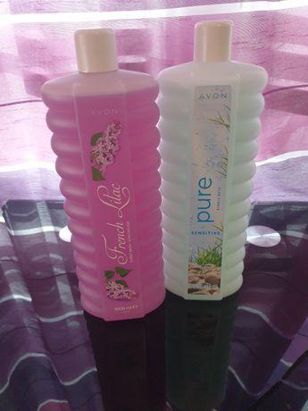 Płyn 1L do kąpieli Avon Kwiat Bzu i Pure 1000ml