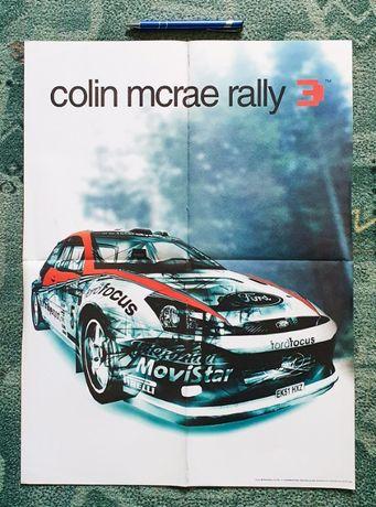Plakat A2, Colin Mcrae rally 3, Kubuś Puchatek
