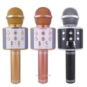 Беспроводной караоке, микрофон KTV WS 858 Bluetooth, USB