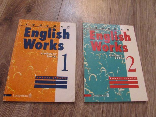 English Works LONGMAN 2szt książek