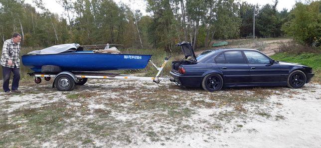 Lodka łódź wwdkarska plastikowa 4m