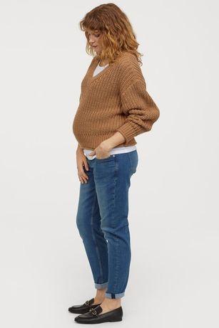 Ciążowe spodnie nowe H&M +tunika ciążowa H&M mama
