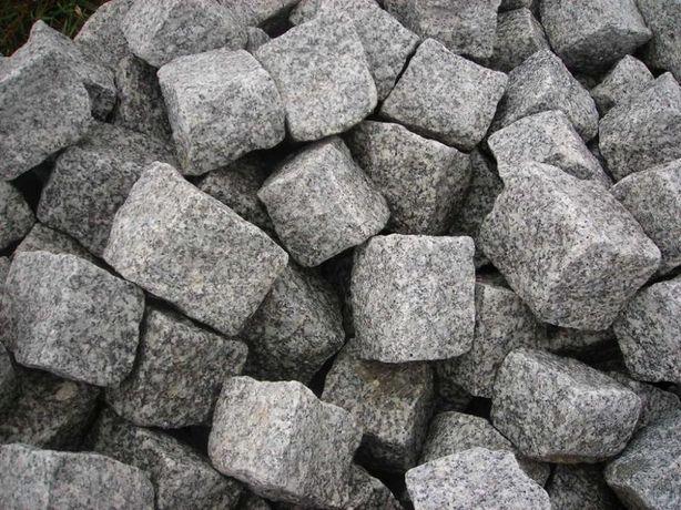 kostka granitowa gat.1 brukowa kamień granit palisada obrzeże ziemia