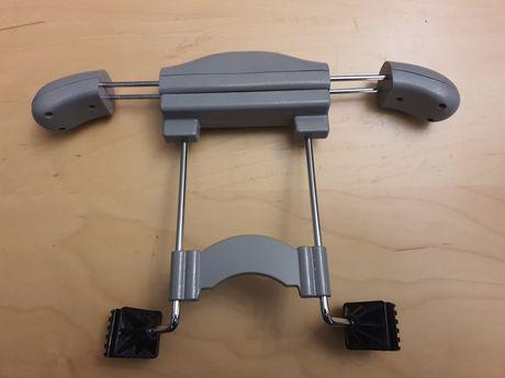 Cabide adaptável encosto de cabeça Cinza