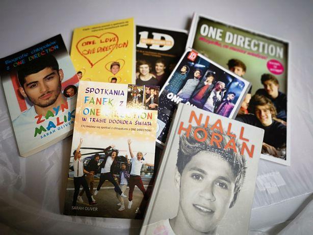 Cały zestaw książek One Direction + trasa koncertowa na płycie
