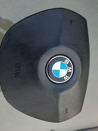 Подушка руля airbag BMW f10, кришка, накладка. Піропатрон робочий