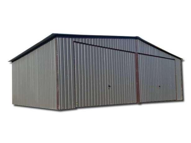 7x5 Garaż blaszany garaże blaszane Blaszak Blaszaki NITY KOLOR PROFIL