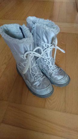 Buty zimowe śniegowce superfit dla dziewczynki rozm. 30
