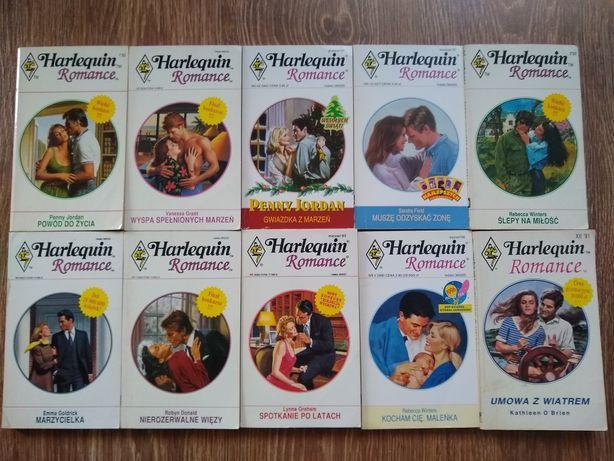 Książki Harlequin i inne