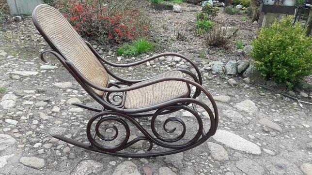 Fotel bujany idealny