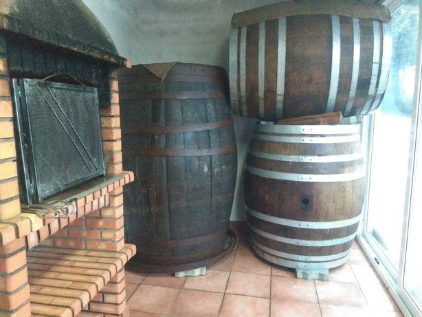 Pipas de vinho em Carvalho